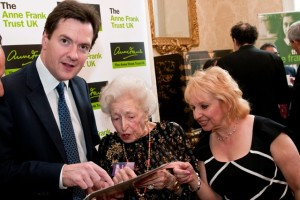 With the Chancellor of the Exchequer George Osborne
