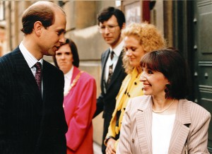 Meeting HRH Prince Edward