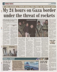 Featured again in the Jewish Telegraph