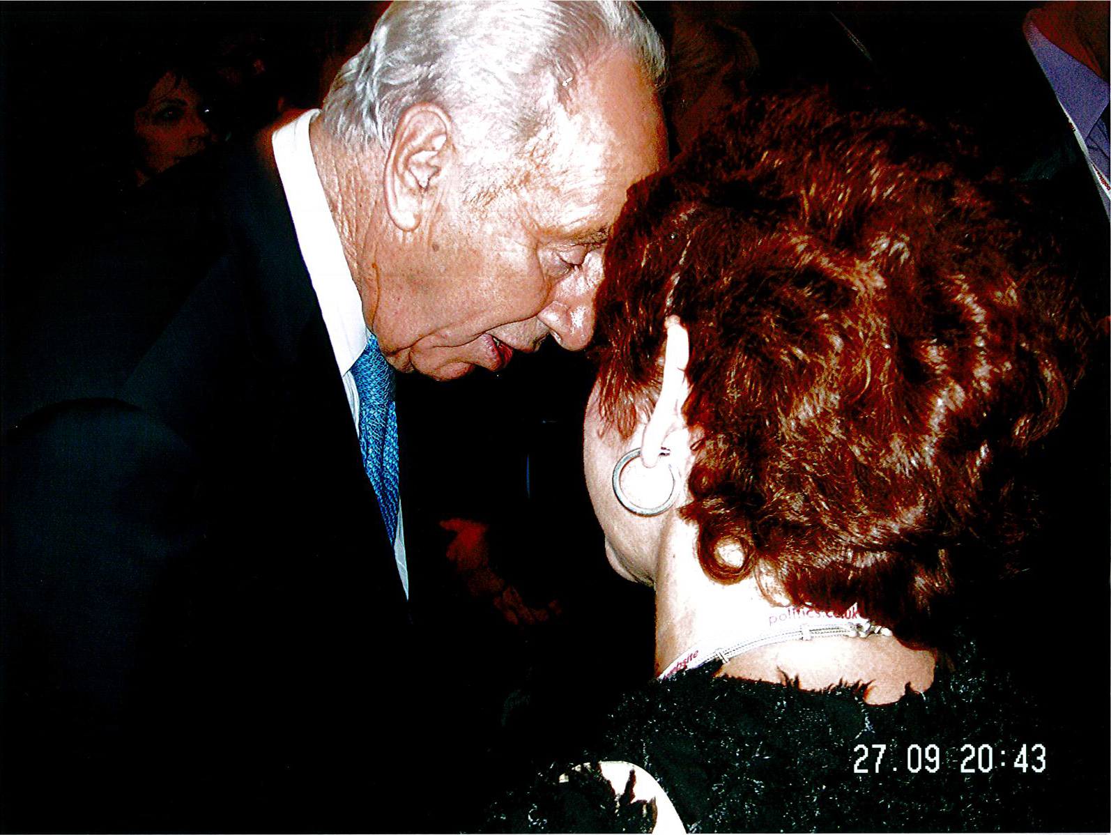 Gillian and Shimon Peres at Labour Party Conference, Brighton